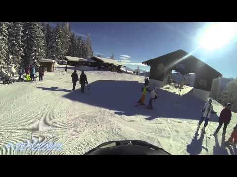 A Ski Day in Filzmoos, Austria