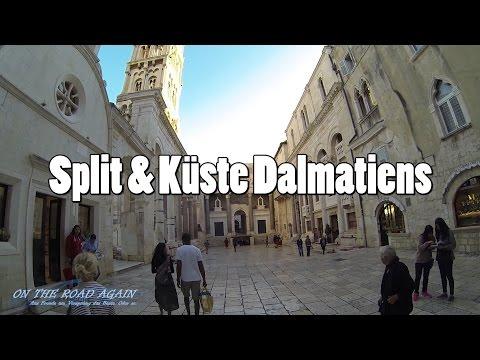 Sommertour 2015: Split & Küste Dalmatiens (Kroatien)