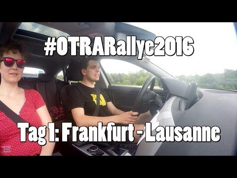 #OTRARallye2016 - Etappe1: von Frankfurt nach Lausanne