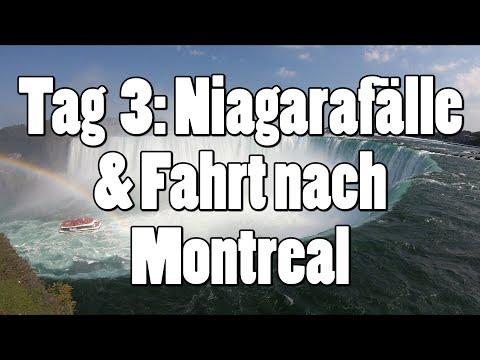 #OTRAmerika19 - Tag 3: Niagarafälle & Fahrt nach Montreal