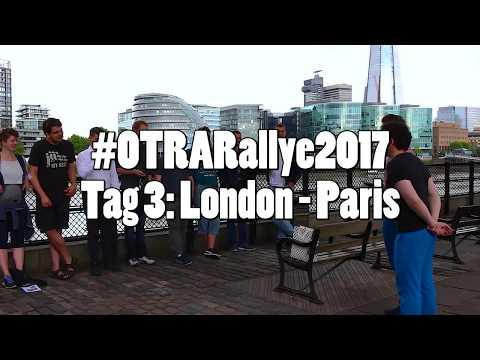 #OTRARallye2017: Tag 3 - von London nach Paris