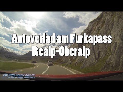Tutorial: Autozug / Autoverlad zwischen Realp und Oberalp, Schweiz (Furkapass)