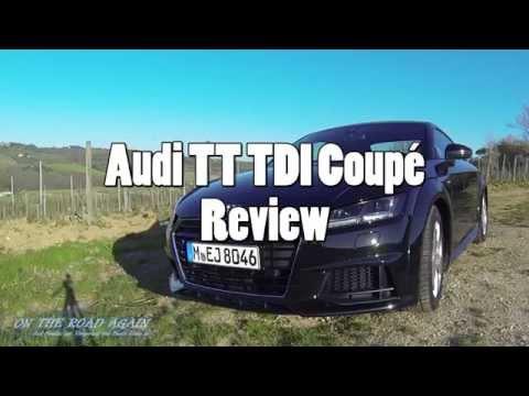 Audi TT 2.0 TDI ultra Coupé - Review in der Toskana