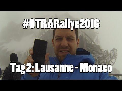 #OTRARallye2016 - Etappe2: von Lausanne nach Monaco