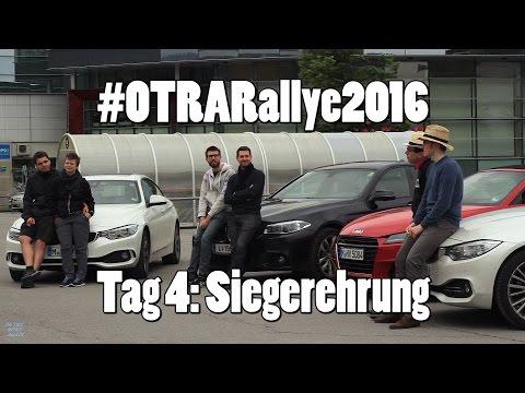 #OTRARallye2016 - Siegerehrung & Interviews