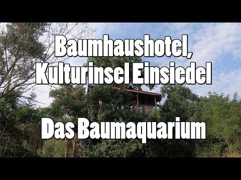 """""""Das Baumaquarium"""" im Baumhaushotel, Kulturinsel Einsiedel"""