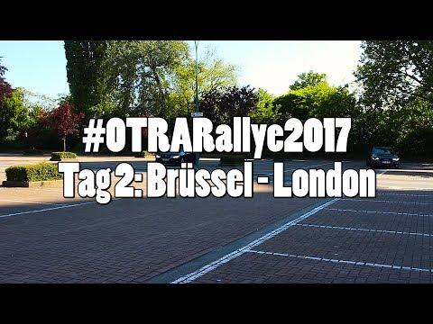 #OTRARallye2017: Tag 2 - von Brüssel nach London
