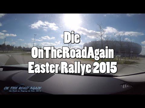 OTRA Easter Rallye 2015 - Tag 1 - von München nach Florenz