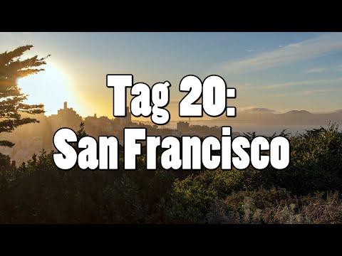 #OTRAmerika19 - Tag 20: San Francisco - Golden Gate Bridge, Pier 39 & Coit Tower