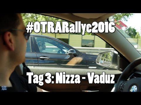 #OTRARallye2016 - Etappe 3: von Nizza nach Vaduz