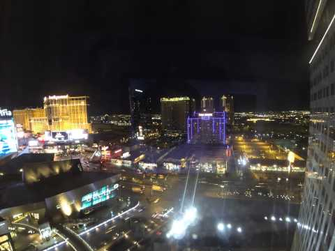 Nightfall in Las Vegas, Nevada - Stripview [Time Laps, 4K, 6K]