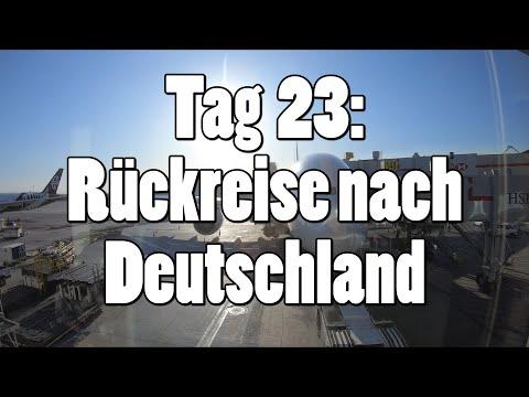 #OTRAmerika19 - Tag 23: Rückreise nach Deutschland