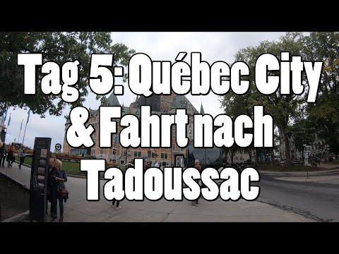 #OTRAmerika19 - Tag 5: Québec City & Fahrt nach Tadoussac