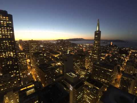 Sunset over San Francisco and the Bay [Time Lapse, 4K, 6K]