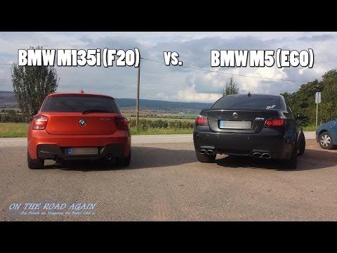 BMW M135i vs. M5 (E60) - Showdown am Kyffhäuser