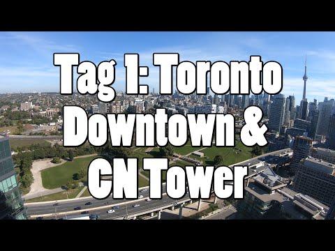 #OTRAmerika19 - Tag 1: Toronto Downtown & CN Tower