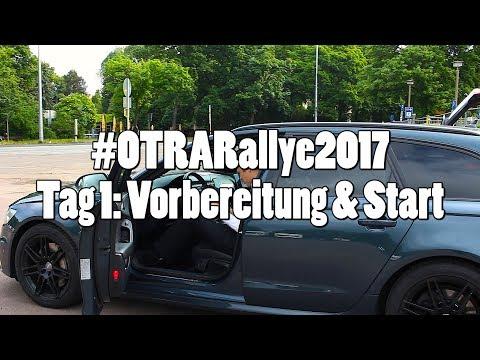 #OTRARallye2017: Vorstellung Teams & Start