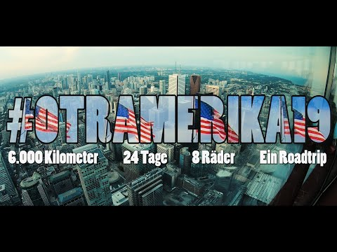 #OTRAmerika19: 6.000 Kilometer, 24 Tage, 8 Räder, Ein Roadtrip - Trailer zum Videotagebuch