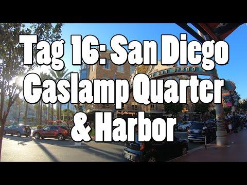#OTRAmerika19 - Tag 16: San Diego - Gaslamp Quarter & Harbor
