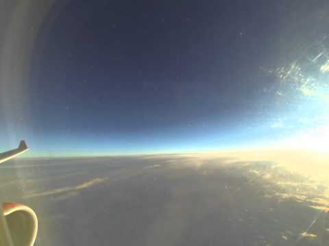 Sonnenaufgang über dem Atlantik [Time Lapse, 4K, 6K]
