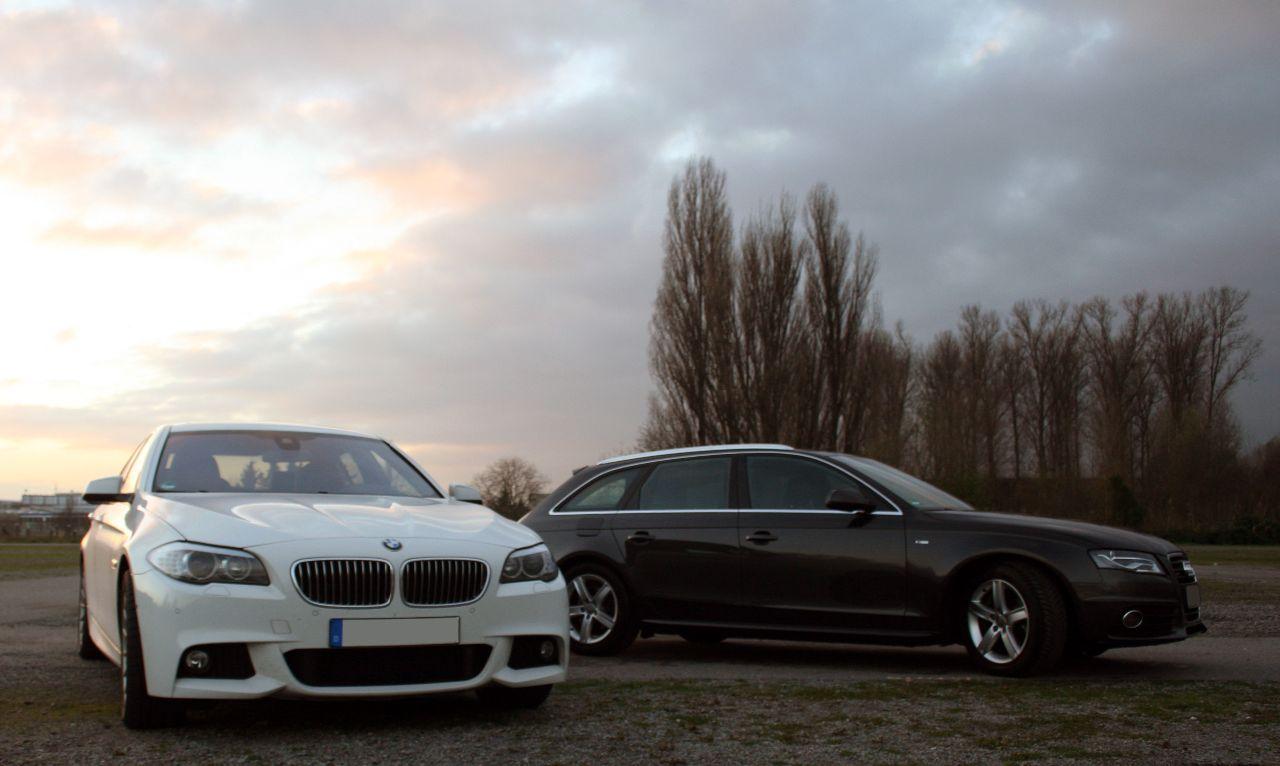 Audi A4 3.0 TDI, BMW 530d xDrive