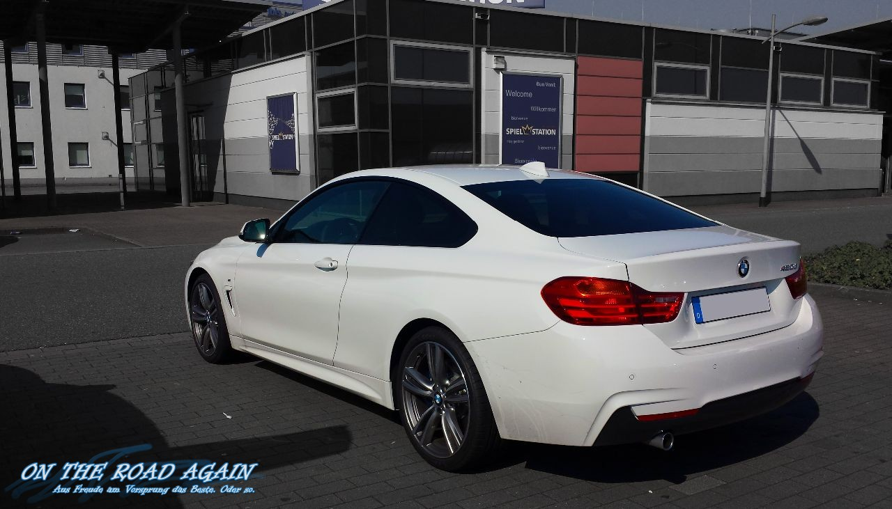bmw 420d coup m paket on the road again auto travel. Black Bedroom Furniture Sets. Home Design Ideas