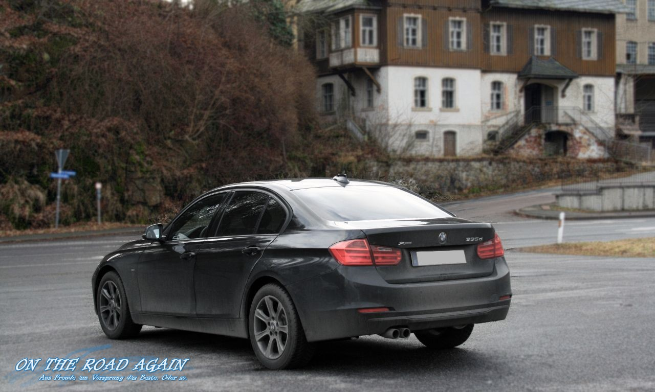 Bmw 335d Xdrive F30 Seitenlinie On The Road Again