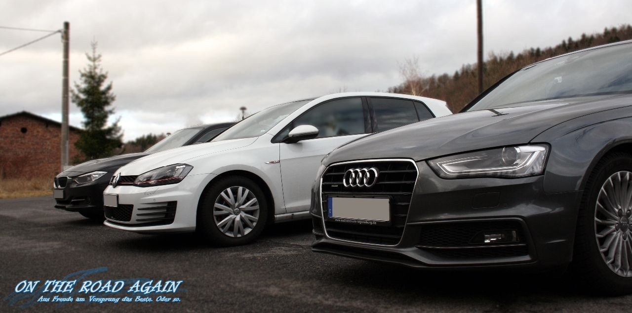 Audi A4 Golf Gti Bmw 335d On The Road Again Auto