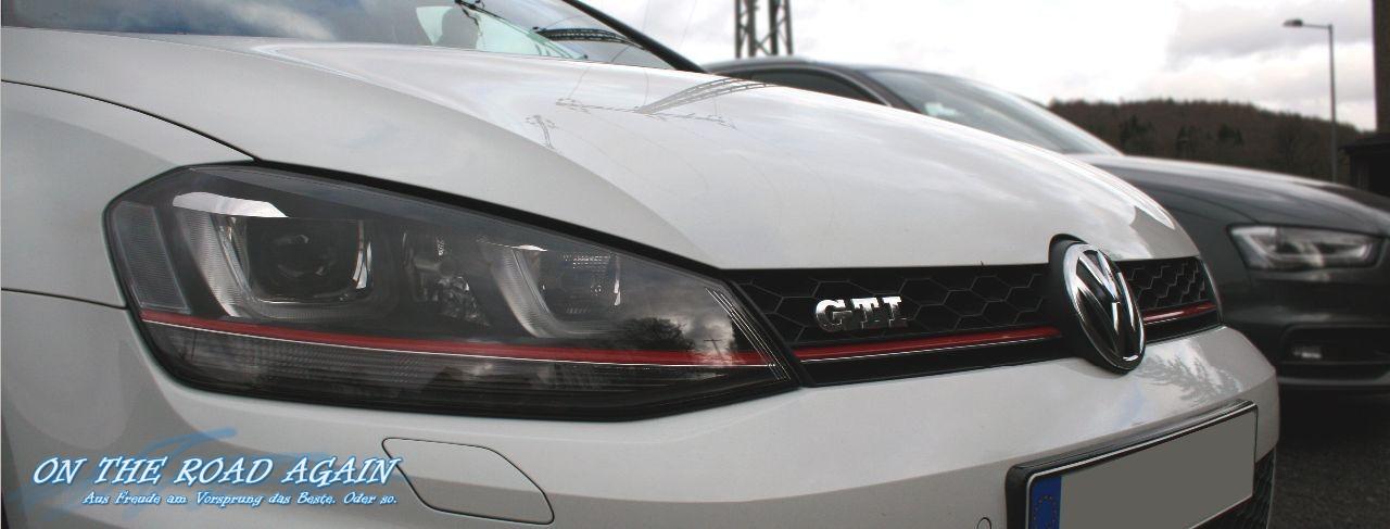 VW Golf GTI Front