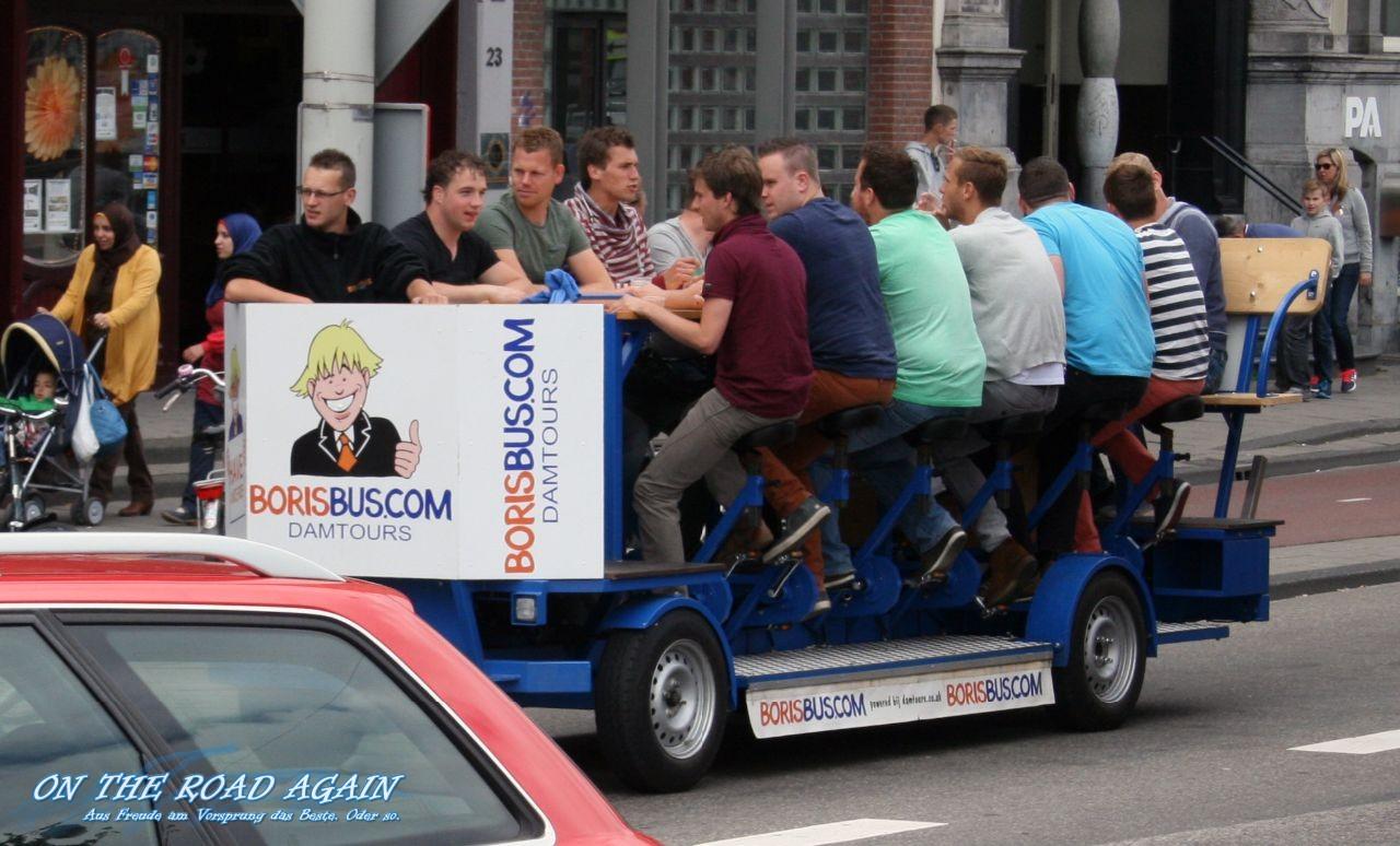 Amstedam Borisbus Bierwagen