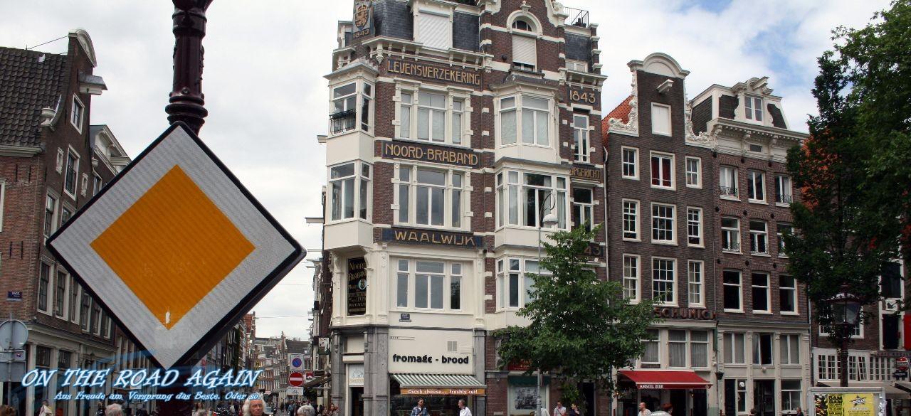 Amsterdam Jordaan Häuser