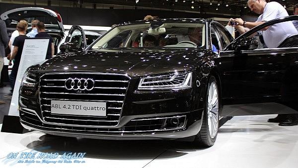 Audi A8 L 4.2 TDI quattro