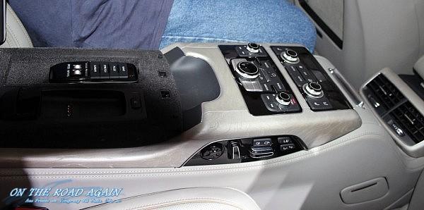 Audi A8 L Einzelsitze Controller