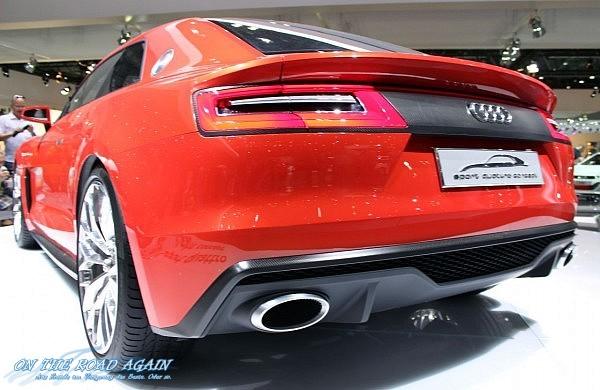 Audi Sport quattro concept Heck