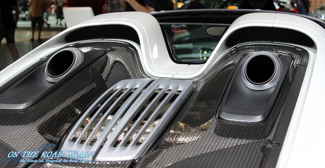Porsche 918 Spyder Auspuffanlage On The Road Again