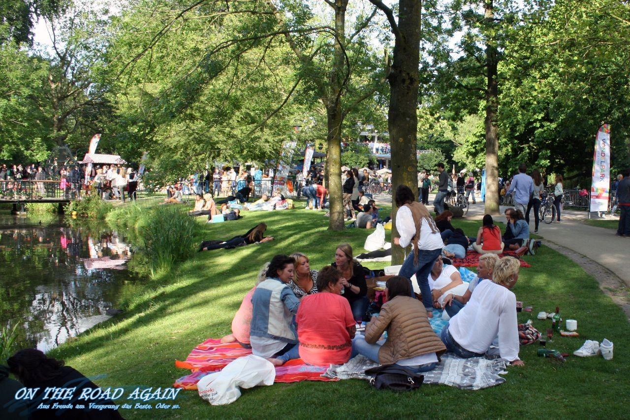 Picknick im Vondelpark