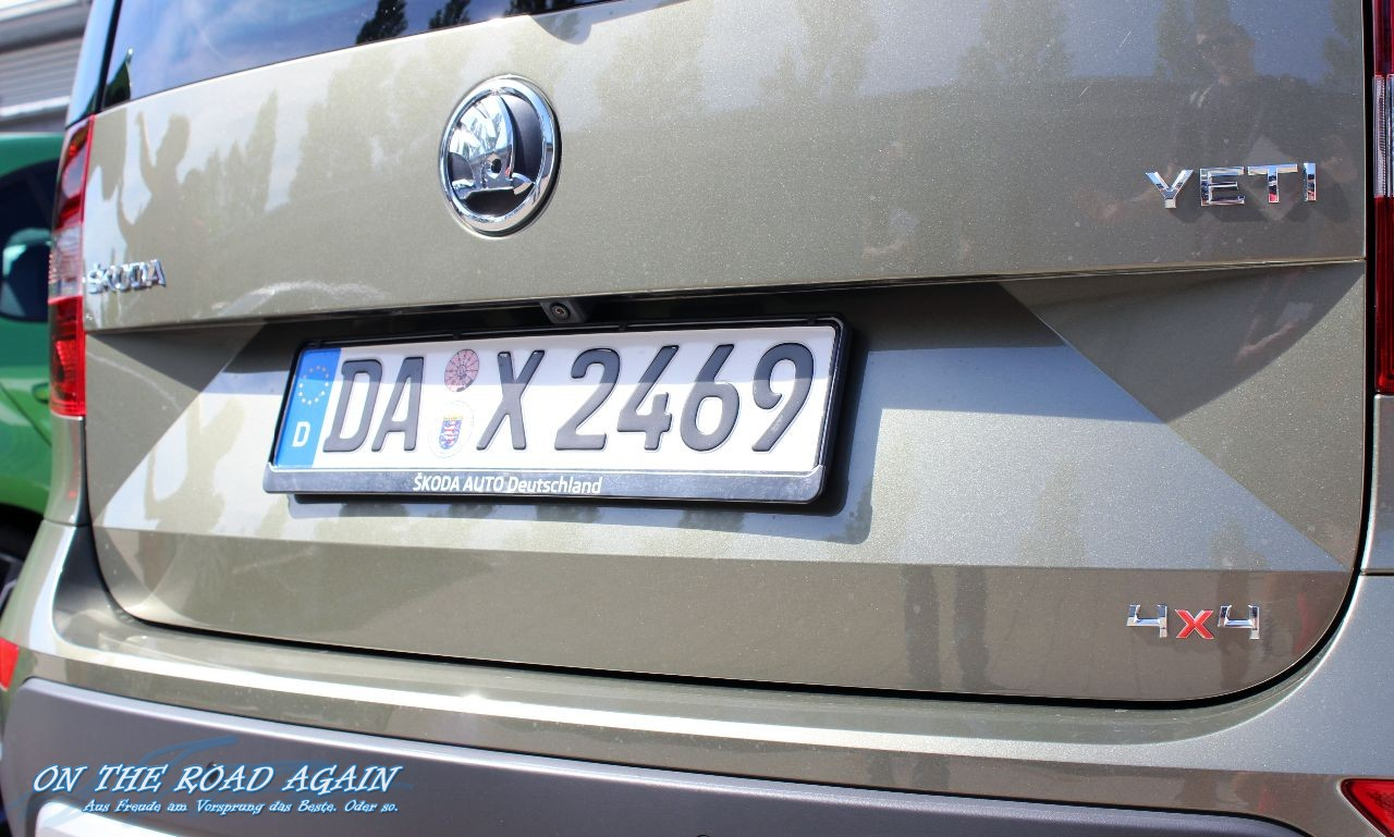 Skoda Yeti 4×4 Heck | On The Road Again - Auto & Travel Blog