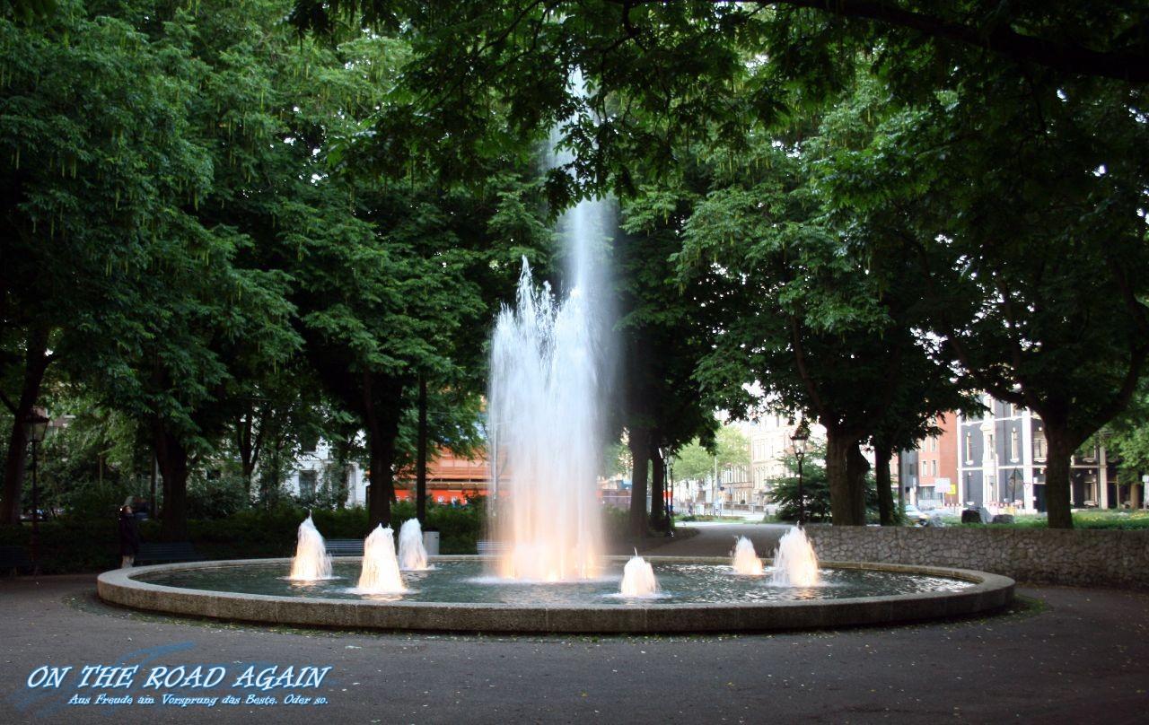 Springbrunnen Amsterdam