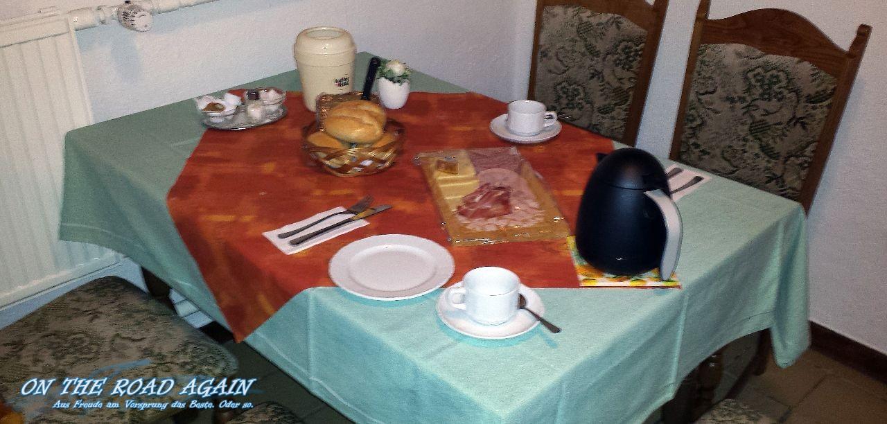 Frühstück Pension Vogler
