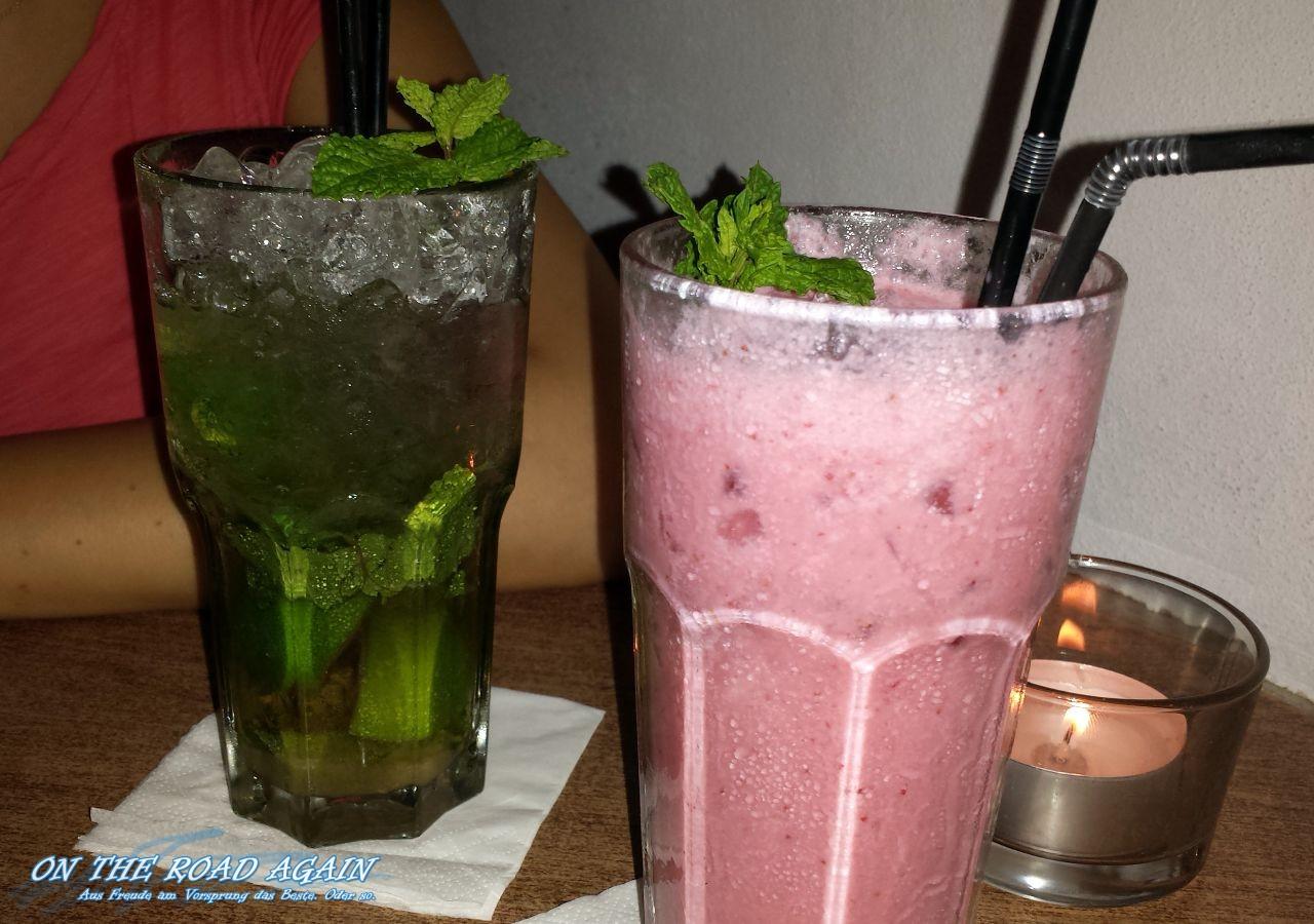 Mojito und Strawberry Colada