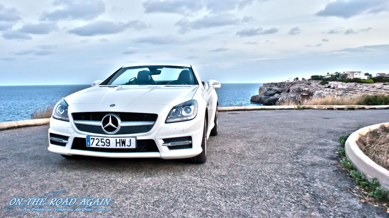 Mercedes benz slk 250 cdi auf mallorca on the road again for Slk 250 mercedes benz