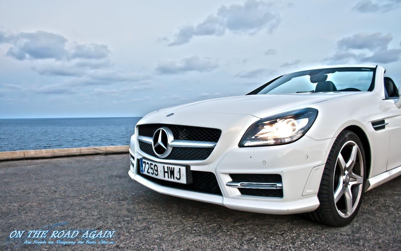Mercedes-Benz SLK Cabrio von vorne