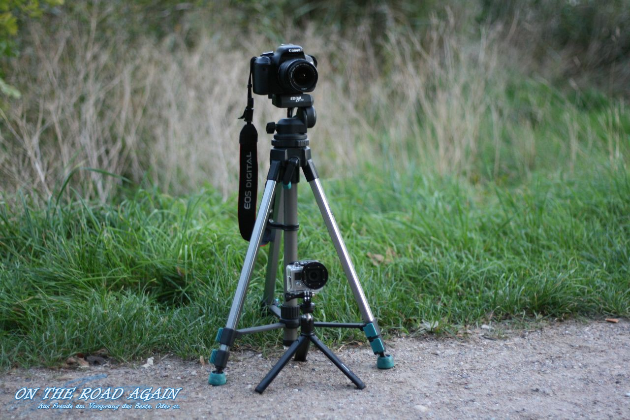Canon Eos 600D und GoPro Hero 3 Black