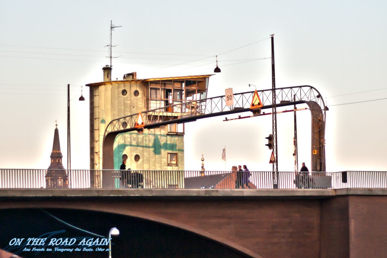 Klappbrücke in Kopenhagen