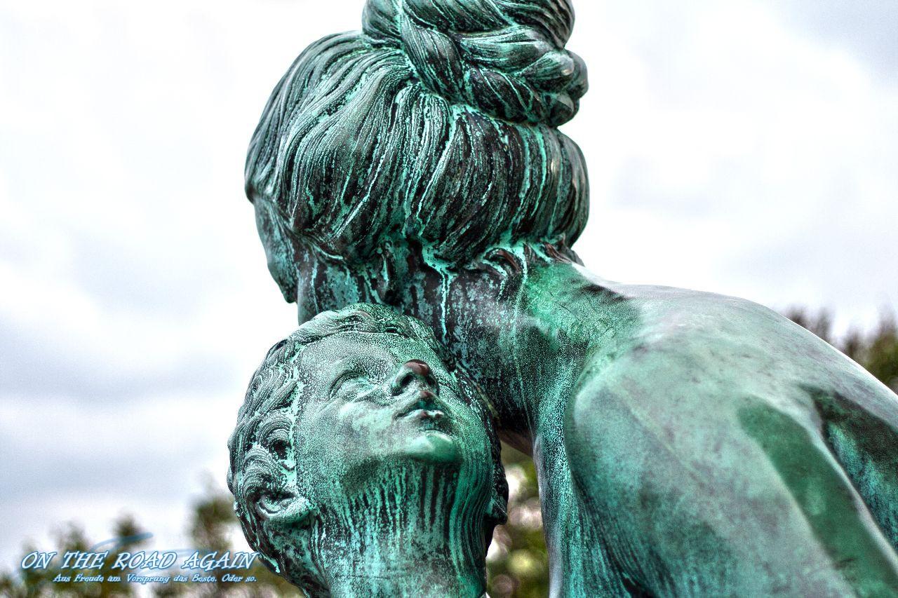 Statue am Kastellet Kopenhagen