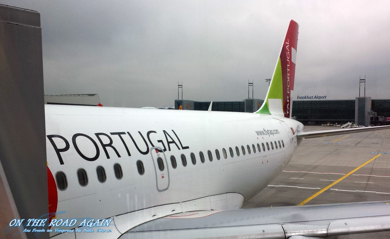 TAP Portugal Flieger am FRA