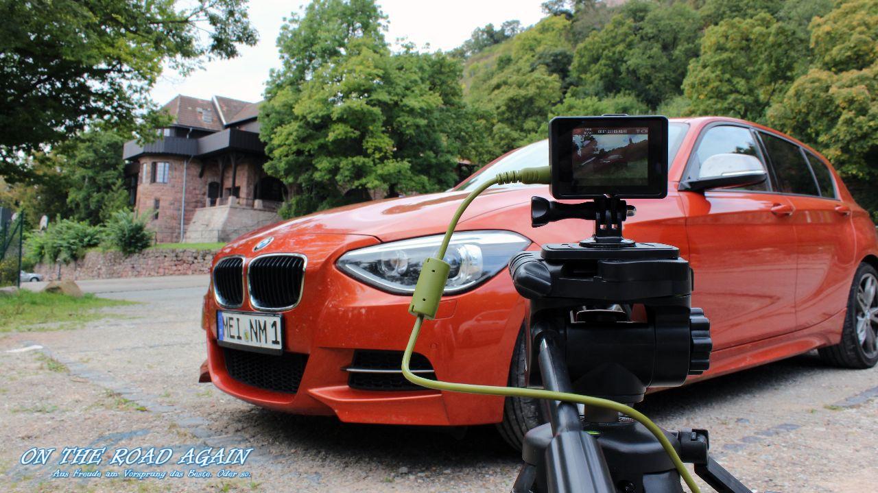 BMW M135i und GoPro Hero3