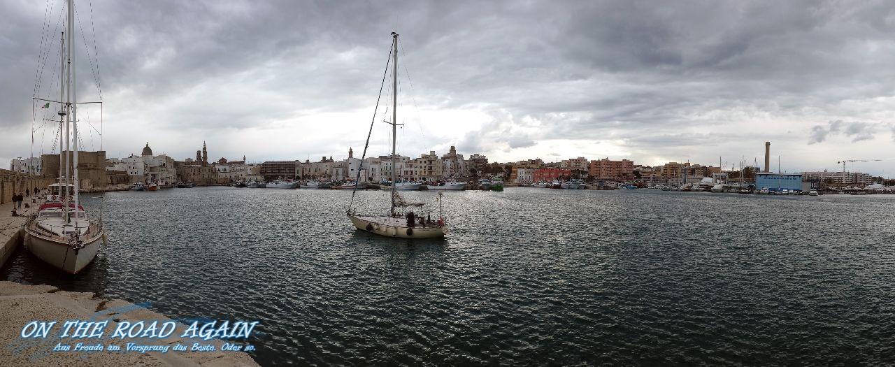 Panorama Hafen Monopoli