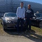 Team GranCoupé im BMW 640d GranCoupé