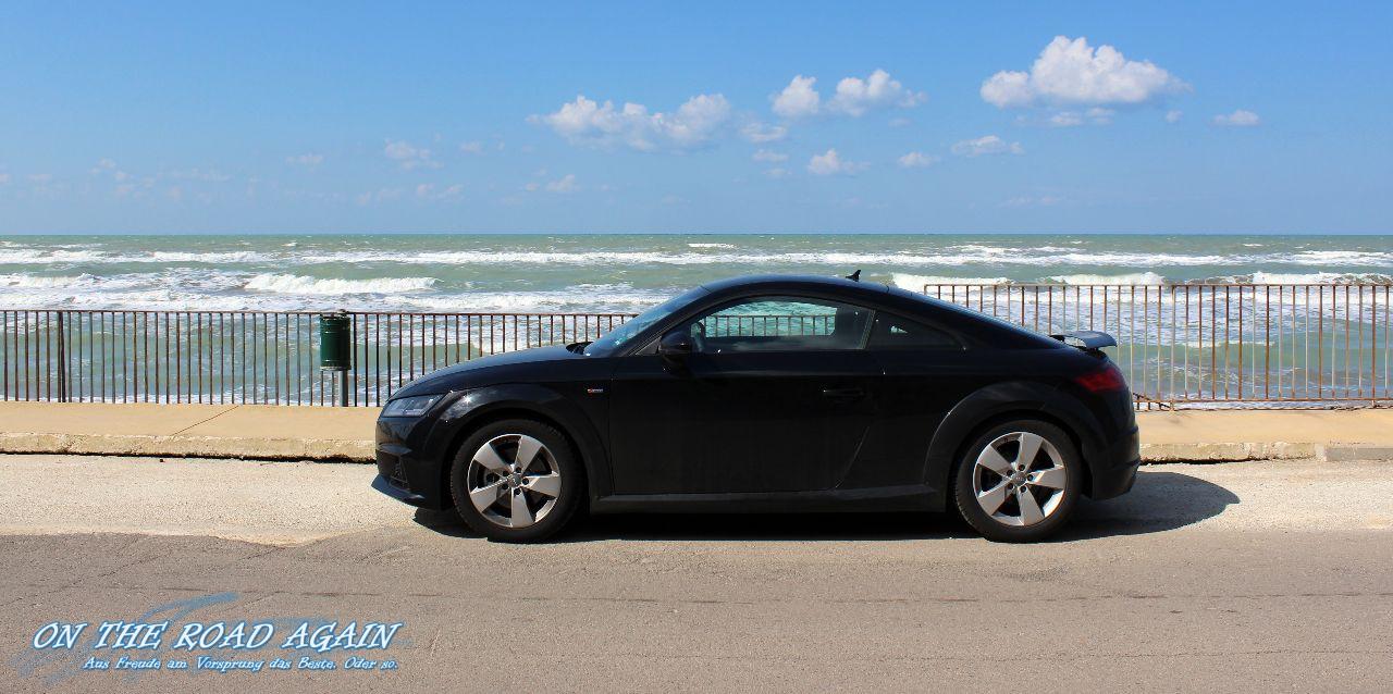 Audi TT am Meer